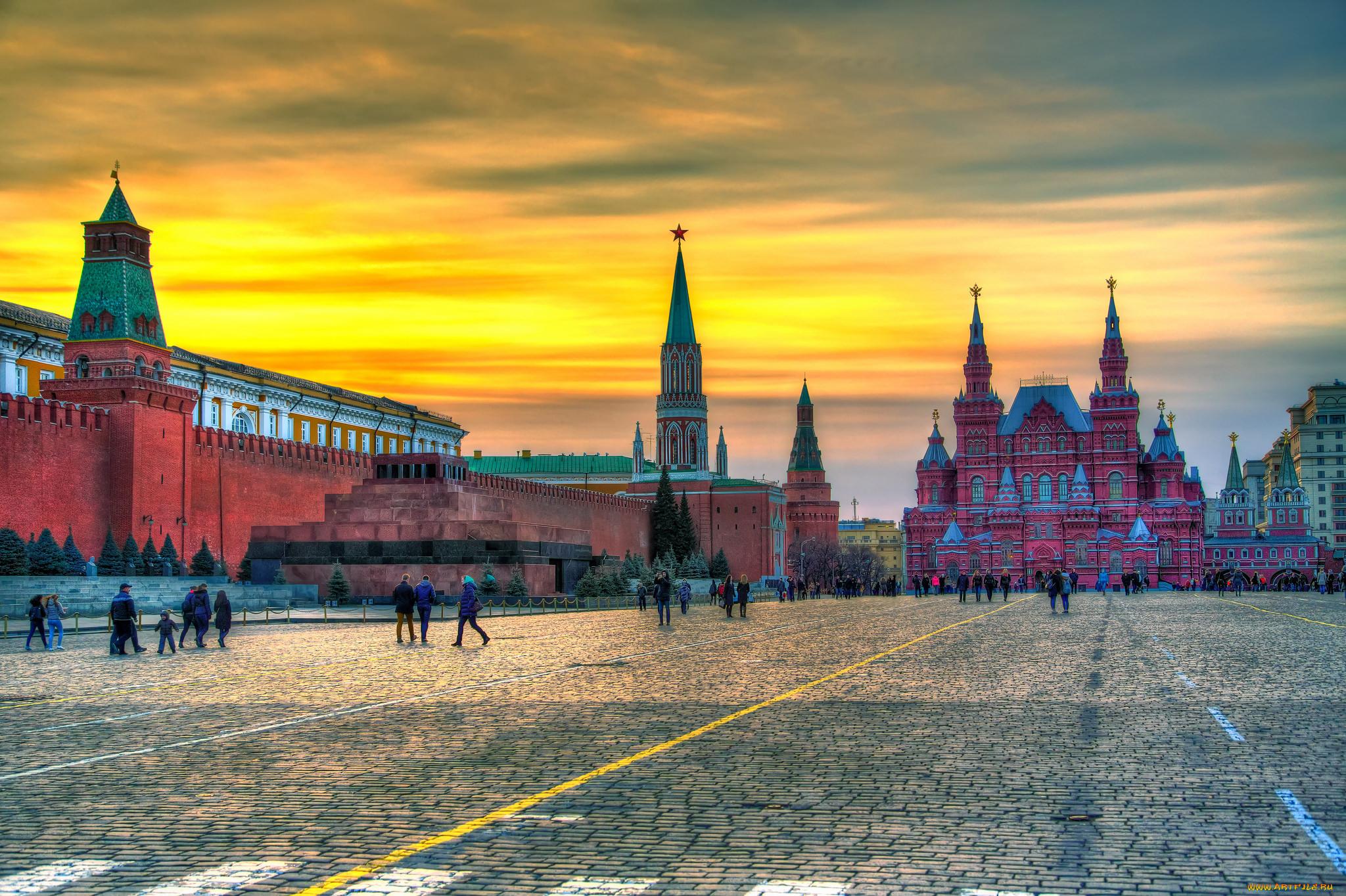 виды кремля и красной площади картинки нашей